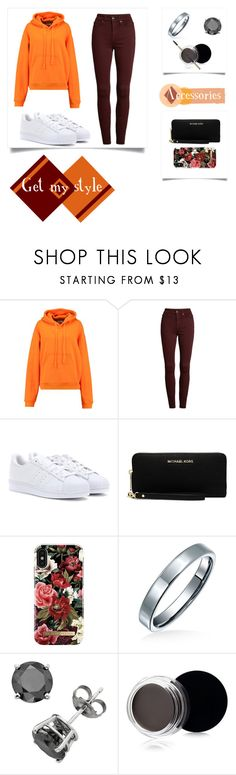 """""""Get my style!"""" by vilzak on Polyvore featuring Ailin, Good American, adidas Originals, MICHAEL Michael Kors, iDeal of Sweden, Bling Jewelry and Inglot"""