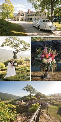Manchester Vermont Wedding at Hildene - Home of the Lincolns
