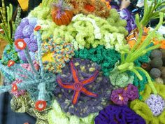 crochet coral reef for more protection