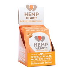 Enjoy Hemp Hearts on the go! Sprinkle on salads, or add to cereal, yogurt, baking, smoothies or eat straight from the bag!