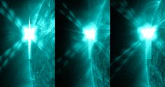 NASA - Three X-class Flares in 24 Hours