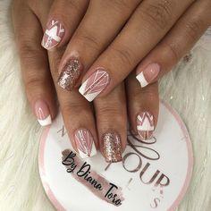 Witch Nails, Glamour Nails, French Nails, How To Do Nails, Nail Designs, Make Up, Nail Art, Sour Cream, Nail Arts