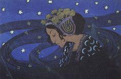 Edward Okuń (1872–1945), Nuit - 1903