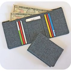 In The Hoop :: Mens TriFold Wallet - Embroidery Garden In the Hoop Machine Embroidery Designs