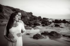 From our maternity photo shoot with Ara Lani Photography Beach Maternity Photos, Pregnancy Photos, Photo Shoot, White Dress, Photography, Dresses, Fashion, Photoshoot, Vestidos