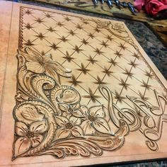 Clayton Kinney-owner/op.. Custom drawn and hand tooled leather products! For ordering call or MESSAGE me at 325-864-3808 or on Facebook @ CDK Leather
