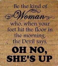 Amen! Satan should also be afraid of the guys too! lol XD