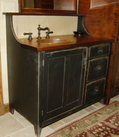 Great High Back Vanity