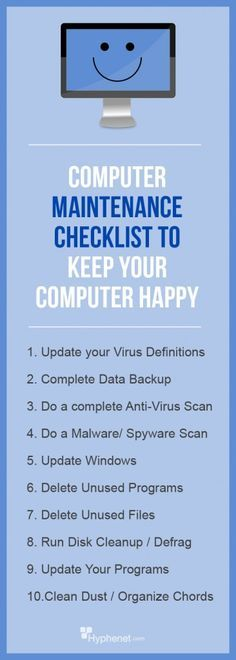 Performing regularly scheduled PC maintenance on your computer will help keep it running smoother. 10 steps that should be on your PC maintenance checklist.