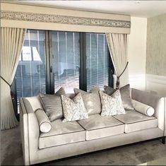 Love this customer photo of their beautiful lounge, bespoke curtains and sofa with scatter cushions. We offer a full interior design service, call to make an appointment. Bespoke Sofas, Bespoke Furniture, Contemporary Furniture, Luxury Furniture, Furniture Design, Selling Furniture, Furniture Making, Brentwood Essex, Furniture Boutique