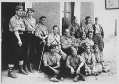 Spain - 1936-39. - GC - Grupo de Jefes y Oficiales Requetés y Legionario