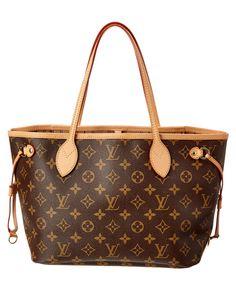 LOUIS VUITTON Louis Vuitton Monogram Canvas Neverfull Pm. #louisvuitton #bags #shoulder bags #lining #canvas #