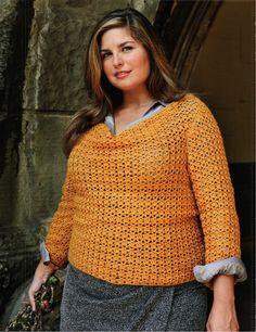 Curvy girl crochet Size L - 5XL