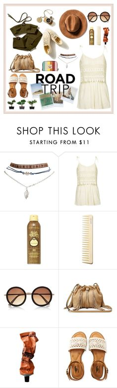 """""""Untitled #59"""" by halimahmufidah ❤ liked on Polyvore featuring Wet Seal, Topshop, Sun Bum, River Island, Diane Von Furstenberg, Polaroid, Aesop, Aéropostale, Nearly Natural and roadtrip"""