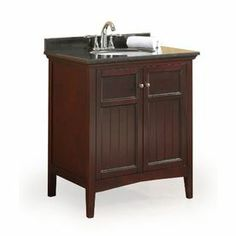 Image Gallery For Website Shop OVE Decors Gavin Tobacco Undermount Single Sink Birch Bathroom Vanity with Granite Top Common x Actual