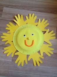 Bildergebnis für frühling im kindergarten basteln - Modern Spring Crafts For Kids, Daycare Crafts, Easter Crafts For Kids, Summer Crafts, Toddler Crafts, Preschool Crafts, Diy For Kids, Kindergarten Crafts Summer, Children Crafts