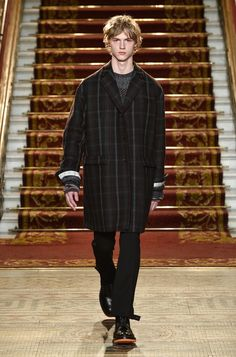 Pringle of Scotland – Automne/Hiver 2016 – London Collections: Men - ESSENTIAL HOMME