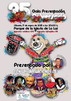 Grupo Mascarada Carnaval: Gala Presentación Los Chancletas