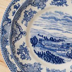 Old Britain Castles Blue 20 Piece Dinnerware Set