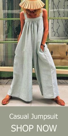 17 Minimalist Fashion Outfits to Copy This Season - Fashiotopia Jumpsuit Outfit, Casual Jumpsuit, Jumpsuit Style, Mode Pop, Summer Dress, Jumpsuit Pattern, Jacket Pattern, Outfit Trends, Type Of Pants