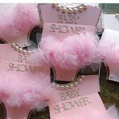 Girl Baby Shower Onesie Invitations