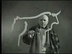 i could watch the full version 20 times in a row <3 picasso // le mystere Picasso, 1956.