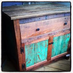 Primitive washstand  Rustic Dresser by CBFullerUnlimited on Etsy, $400.00
