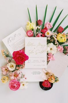 "From the editorial ""Boho Brides Will Go Crazy for This Modern Palm Springs Wedding With Pops of Fuchsia.""This tropical wedding had a desert vibe and we are over the moon to share the details on SMP! Just wait until you see the rest of these floral adorned stationery images!  ​Photography: @ashleyraestudio #bohoweddinginvitations #bohowedding #pinkweddingflowers #weddingstationery #bohostationery Original Wedding Invitations, Affordable Wedding Invitations, Wedding Invitation Inspiration, Spring Wedding, Boho Wedding, Wedding Flowers, Garden Wedding, Dallas Wedding Photographers, Boho Bride"