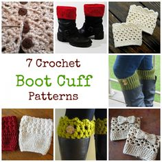 It's time to break out your boots and with that, we have brought you 7 crochet patterns to make a a pair...