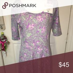 Lularoe nicole size XL Nicole dress. Size XL. Soft, comfy and stretchy. LuLaRoe Dresses