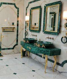Luxus Badezimmer Dekor Baldi Home Jewels Firenze 1867 - Amaltea . Salon Interior Design, Interior Decorating, Modern Interior, Decorating Ideas, Lobby Interior, Classic Interior, Dream Home Design, House Design, Bathroom Design Luxury