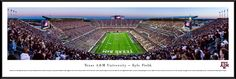 Texas A&M Aggies Panoramic Picture - Kyle Field - Standard Frame $99.95