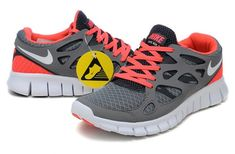 pretty nice ce2af e1a8b Günstig Kaufen Online Nike Free Run 2 Running Damen Grau Schiefer Grau  Schwarz