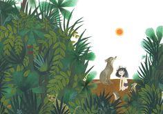 Sadie as Mowgli by Julie Morstad from This Is Sadie (Tundra, Spring 2015)
