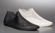 XYZ 3D printed shoe BY EARL STEWART