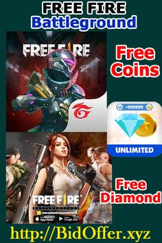 Free Fire Free Coins And Diamonds - Free Fire Battlegrounds Hack Pugb Mobile, Free Fire Free Coins And Diamonds - Free Fire Battlegrounds Hack 2019 Source by Free Avatars, Play Hacks, Free Rewards, Game Codes, Game Resources, Gaming Tips, Android Hacks, Free Gems, Mobile Legends