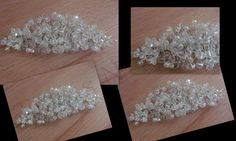 bespoke crystal adjustable hair vine