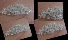 bespoke crystal adjustable hair vine