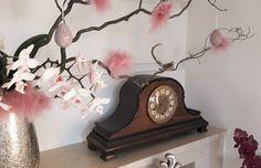 Easter Flower Arrangements, Easter Flowers, Clock, Indoor, Home Decor, Watch, Interior, Decoration Home, Room Decor