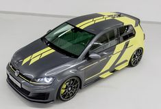 VW apprentices have unveiled their Golf GTI Dark Shine project at the Wörthersee GTI Meeting.