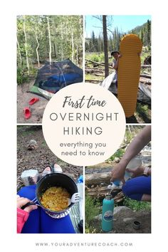 Packing for your first backpacking trip? It can be daunting if you've never done it before! This post will give you the information you need to feel confident about going out on your first overnight hike with friends or by yourself. We'll go over what gear you should bring and how to pack efficiently so that nothing gets left behind; we'll also share some safety tips as well as advice on where to find great hiking trails near home. Read this article and then get ready for an amazing adventure! Backpacking Tips, Amazing Adventures, Safety Tips, Hiking Trails, You Can Do, Summer Fun, Need To Know, Confident, First Time