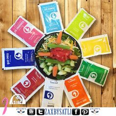This is how we dress up our Zaxby salad!  #ZAXBYS #ZAXBYSALT1 #Nevernotworking #food #healthyfood #vegetarian #salads #beardedchef #tallahassee #tallyfood #famu #famuhc2k14 #lively #tallybbq #fsufootball #orangeave #chicken