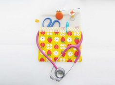 Nurse stethoscope bag/pouch Stethoscope pouch by ippoippo on Etsy