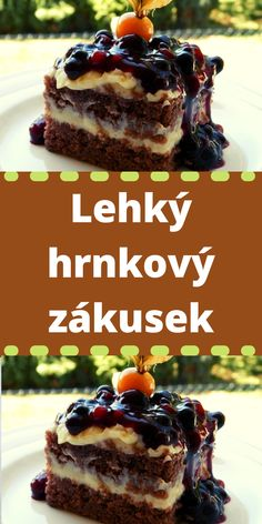 Sweet Desserts, Sweet Recipes, Czech Recipes, Ethnic Recipes, Breakfast Quotes, Beef Bourguignon, Cheesecake, Deserts, Food And Drink