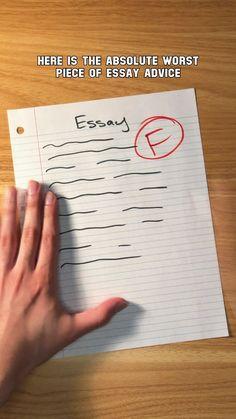 Middle School Hacks, High School Hacks, High School Life, Life Hacks For School, School Study Tips, Essay Writing Skills, English Writing Skills, Book Writing Tips, Writing Words