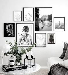 Poster Store: Beautiful Wall Art – Buy posters & frames – Home Decoration Room Wall Decor, Bedroom Wall, Living Room Decor, Ikea Bedroom, Bedroom Furniture, Bedroom Photo Walls, Bedroom Decor, Photo Decoration On Wall, Living Room Gallery Wall