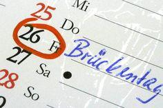 Brückentage 2017: So lässt sich der Urlaub geschickt verlängern - TRAVELBOOK.de