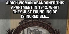 Rich Woman Abandons Apartment In 1942. Look At What They Found Inside…