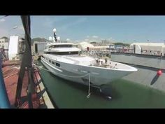 Time-lapse of the launch of superyacht Suerte (S693) by Tankoa Yachts