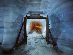 Inside the glacier 🔮